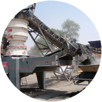 sand and mineral process machine