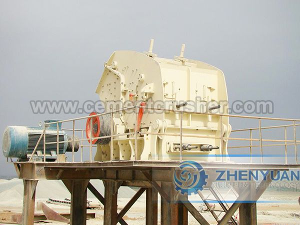 impact crusher in plant