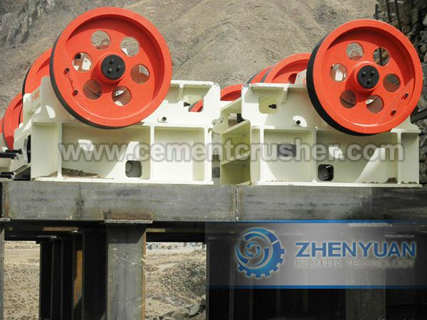 plant jaw crusher