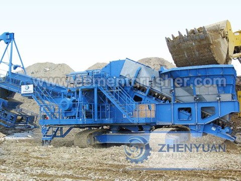 Mobile Crushing and Screening Plant3