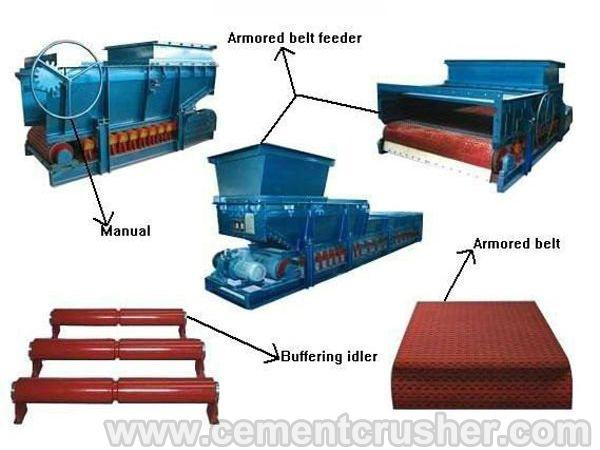 armored belt feeder sturcture