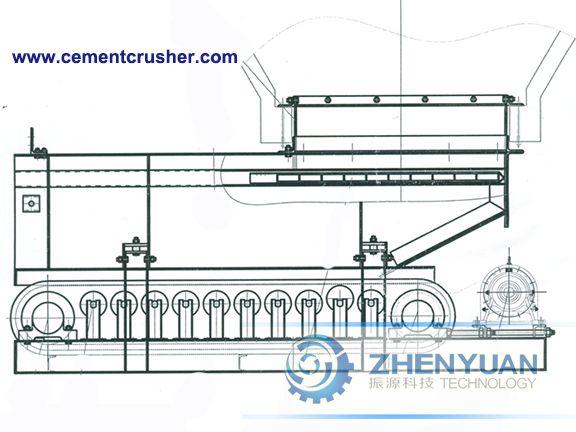 belt feeder structure