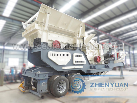 Mobile Impact Crushing Plant2