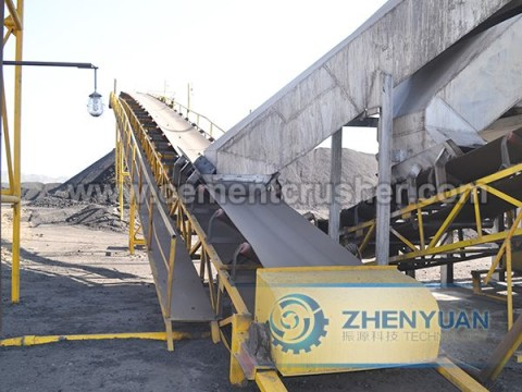 belt conveyor 6