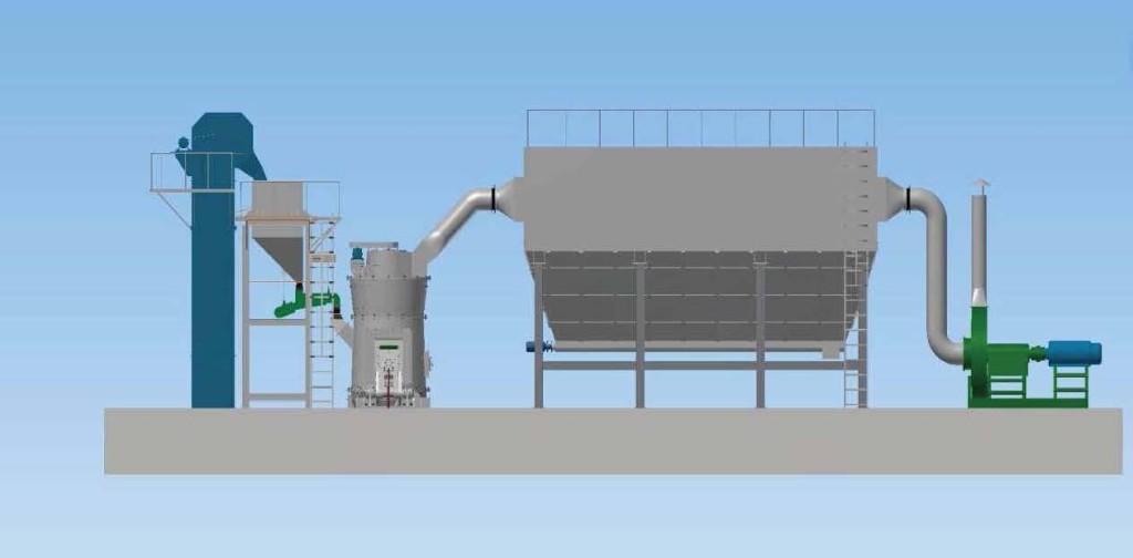 vertical mill application